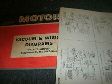 1972 1973 chevrolet chevelle laguna malibu el camino wiring diagrams sheets  set
