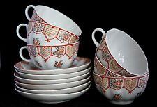 Russian Tea Cups Lomonosov Porcelain Factory-NEW