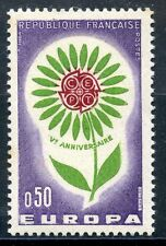 STAMP / TIMBRE FRANCE NEUF LUXE ** N° 1431 ** EUROPA 1964 FLEUR