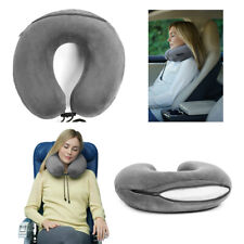 Travelrest Curl U-Shaped Neck Pillow Support Memory Foam Therapeutic (Grey)