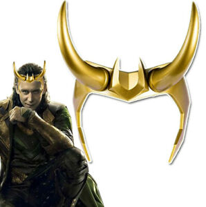 Thor Ragnarok Loki  Helmet Mask Halloween party Cosplay