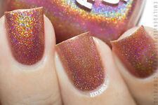 Polish Me Silly Rusty But Ready Holographic Nail Polish Indie Polish