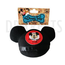Disney Tails Mickey Mouse Ears Mouseketeer Hat Plush Squeak Chew Dog Toy