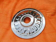 "37-2240 new BSA ROCKET 3 A75 LOUVRE STAINLESS HUB COVER / WHEEL TRIM TLS 8"" hub"