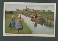 MARKEN  vintage postcard Holland   q271