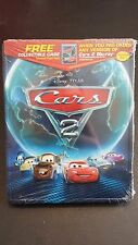 DISNEY PIXAR CARS 2 METAL COLLECTIBLE STEELBOOK CASE SAVE 6% GMC