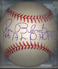 Ron Blomberg New York Yankees OAL COA Autographed Ball
