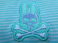 Psycho Bunny Men's Pima Cotton Ceramic Striped Polo Shirt Euro 8 XXL 2XL NWT NEW