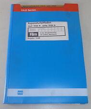 Workshop Manual Microfiche VW Golf II / 2/Jetta 4 CYLINDER INJECTION ENGINE -