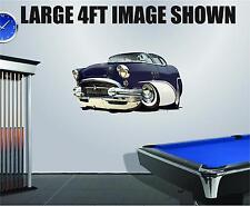 DB 1955 Buick Wall Graphic Decal Vinyl Sticker Peel Stick Cartoon Car 2ft