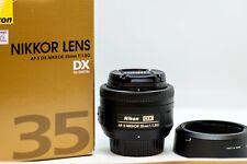 Nikon Nikkor AF-S DX 35 mm F/1.8G Lens (JAA132DA). Excellent condition.