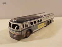 Vintage 1950's Greyhound Bus Friction Toy JAPAN