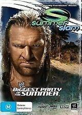 WWE - Summerslam 2007 (DVD, 2007) // category stickers on sleeve