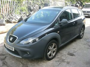 SEAT ALTEA XL FREETRACK 2.0TDI BMN ENGINE 170BHP LC9Z BLACK BREAKING PEDAL