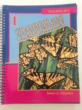 Abeka 7th Grade 7 Grammar and Composition Teacher Key to Student Worktext 3rd Ed