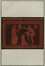 Décoration etrusque Antiquité Grèce Italie Hamilton Gravure originale 1785