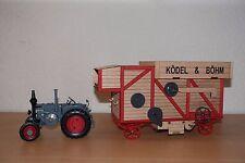 Schuco 450898900 1:32 Lanz Bulldog mit Dreschmaschine Ködel & Böhm NEU OVP