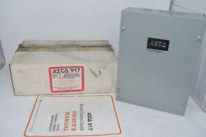 NEW ASCO 91782031C Remote Control Lighting Contactor Nema 1 Enclosure