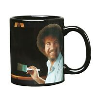 Bob Ross Heat Changing Mug - Ceramic 11 oz - See Painting Color with Hot Liquids