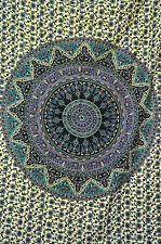 Large Buddhist Mandala Tapestry Hippie Hippy Wall Hanging Beach Blanket Coverlet