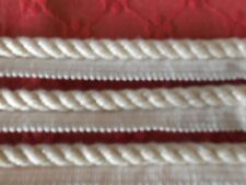 9 yards ivory color cord 100 % cotton by Donghia great quality