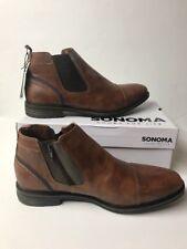 Sonoma Vitalize by Ortholite Ensemble Tan Zip-up Boots Mens Size 13 New