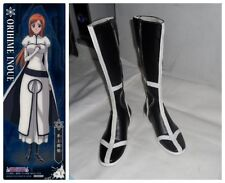 Bleach Cosplay Costume Inoue Orihime Boots Boot Shoes Shoe UK