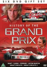 HISTORY OF THE GRAND PRIX 6 DVD GIFT SET Hunt Lauda Ferrari Aston Martin New
