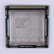 Intel Xeon X3430 SLBLJ LGA 1156 2.4 GHz 2.5 GT/s Quad-Core CPU Processor