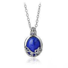 Film The Vampire Diaries Katherine Anti-sunlight Lapis Lazuli Pendant Necklace;;