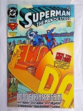 DC Comics SUPERMAN vs LOBO unopened SEALED NEAR MINT SUPER NICE with DECALS