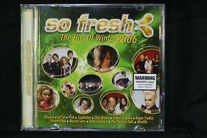 So Fresh: The Hits Of Winter 2006 - Rhianna , Nickelback- CD (C128)
