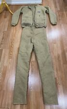 Vintage 1970's Patagonia Parka Fleece Set Jacket/Pants Brown Outerwear .!