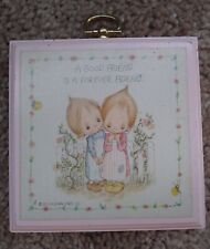 New ListingVintage Hallmark Betsey Clark 3.5� Plaque A Good Friend Is A Forever Friend 1972
