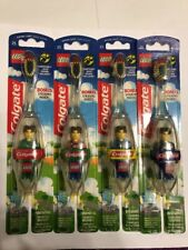 Lego Colgate Toothbrush with Jack Stone Figure Extra Soft 2002 SEALED Collect