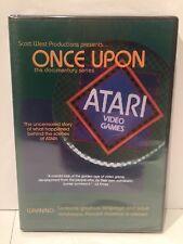 Once Upon Atari documentary DVD / NEW / E.T. / Yar's Revenge / 2600 / 3DO