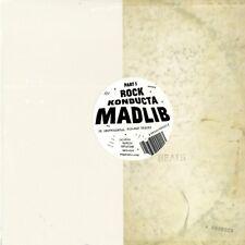 Madlib-ROCK KONDUCTA Part 1 (1lp Vinyle) 2014 Madlib Invazion, mms020