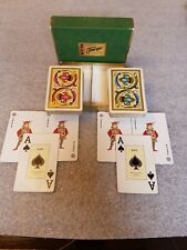 Vintage Fournier Double Deck Playing Cards - Made In Spain #826