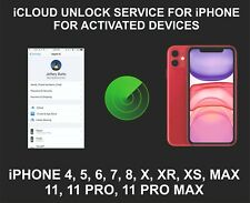 iCloud Remote Unlocking Service, For Active devices, iPhone XR, XS, 11, Pro, Max