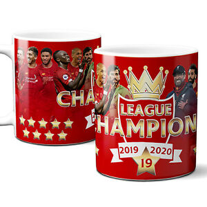Liverpool Champions Mug Winners Premier League Football Supporter Cup Gift