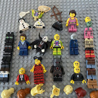 LEGO Minifigure Series Bundle Job Lot Spares Parts Heads Legs Incomplete