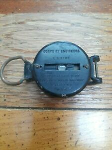 vintage WW2 Era US army Coirp of Engineers Compass superior Magneto