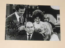 Actor ED ASNER Signed 4x6 MARY TYLER MOORE SHOW Photo AUTOGRAPH 1D