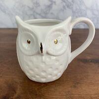 White Owl Coffee Cup, Large 3D Tea Cup, Very Nice Ceramic Mug