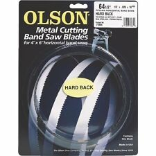 """64-1/2"""" Olson Band Saw Blade - 1/2"""" Wide 14 Tpi - Carbon Steel - Made In Usa"""