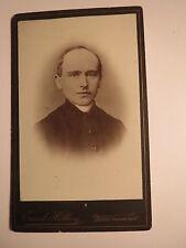 Recklinghausen - Mann - Geistlicher - Priester ? Pfarrer ? Prediger ? / CDV