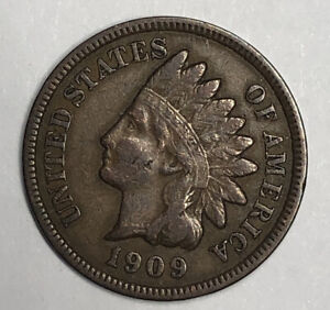 1909 Indian Head Cent  $1 shipping