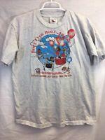 Vintage 1998 M. Lin Missing & Abducted Children 1-800-USA-KIDS T-Shirt Size L