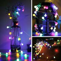 100 LED Lights Berry Ball Battery Operated Timer Multi Function Christmas Lights