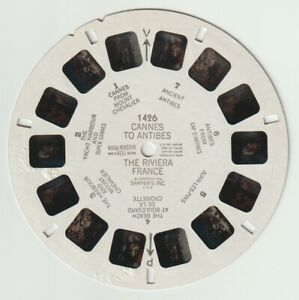VIEWMASTER REEL: 1426 CANNES TO ANTIBES THE RIVIERA FRANCE